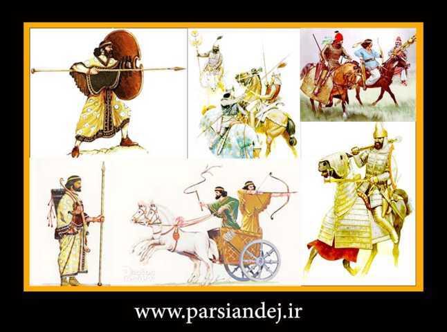 سربازان ایران باستان