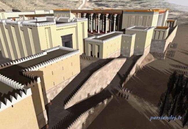 پارسه یا تخت جمشید ، گوهر معماری جهان باستان.
