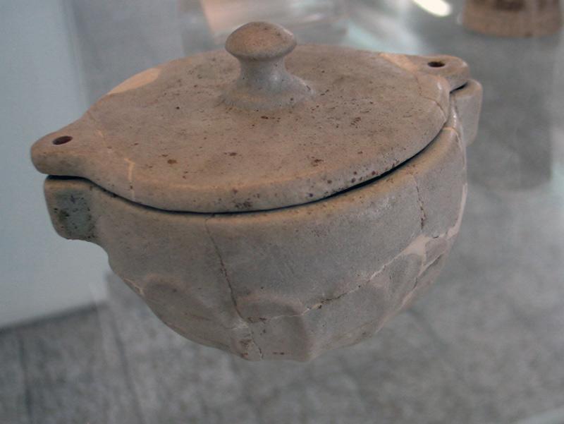 هنر هخامنشی - موزه ملی ایران -ظرف سنگی -شوش