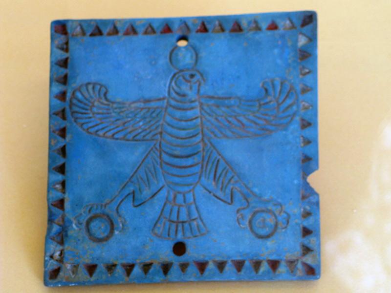 هنر هخامنشی - موزه ملی ایراپلاک لاجورد- تخت جمشید
