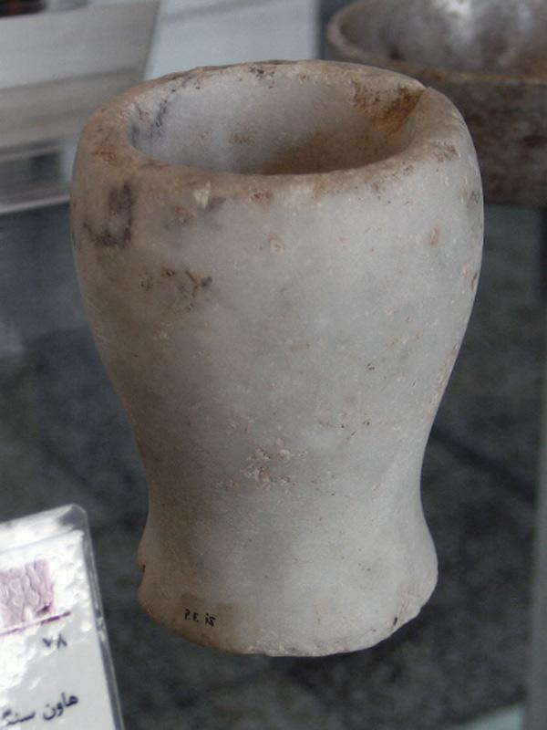 هنر هخامنشی - موزه ملی ایران -هاون سنگی-تخت جمشید