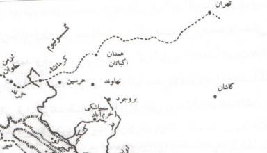 نقشه کوه گیلویه و بهبهان در نقشه قدیم انزان و انشان