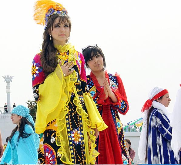 دختر زیبا تاجیکی