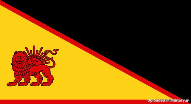 پرچم سلسله افشاری